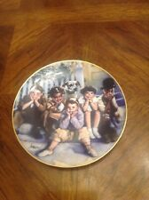 The Little Rascals Commemorative Plate Used Limited Edition wall decor kids movi