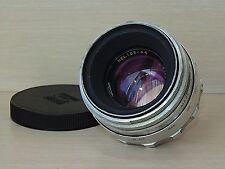HELIOS 44 WHITE 58mm f/2 M39 RUSSIAN LENS ZENIT USSR  Lens 13 blades