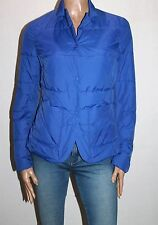 STILE BENETTON Designer Blue Quilted Jacket Size XS BNWT #JA019