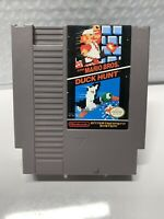 Super Mario Bros./Duck Hunt (Authentic) (Nintendo, NES, 1988) Contacts Cleaned