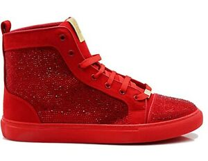 Men's Sneakers Spike Studded Punk Street ankle boots High-Top Athletic Shoes