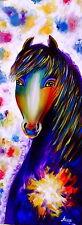 Pintura de caballos, pintura Abstracta Arte Moderno Pared De Tela Pintura pinturas al óleo