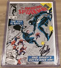 AMAZING SPIDER-MAN 265 Signed STAN LEE 1st SILVER SABLE  Silver Edition W Coa 2