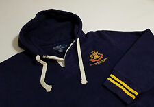 POLO RALPH LAUREN Men's Hoodie Pullover Sweatshirt, Medium Black