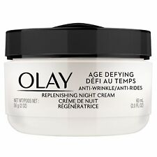 OLAY Age Defying Anti-Wrinkle Night Cream 2 fl oz (Pack of 3)