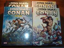 4 Tomos de La Espada Salvaje de Conan, colecc. Marvel Limited Panini 1500 uds.