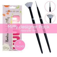 Nail Art Brush Set Ultimate Designer Pack by Mitty