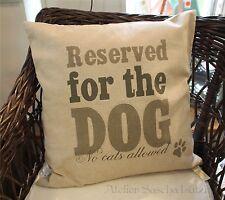 Clayre & fed almohada cojines decorativos funda perro perros almohada landhaus Shabby 50x50