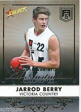 2015 Future Force All Australian (AA4) Jarrod BERRY Brisbane