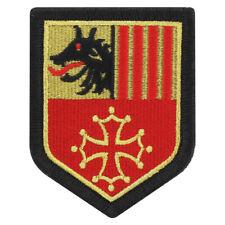 Ecusson G.N. Région Languedoc Roussillon Couleur Brodé