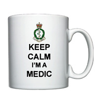 Keep Calm I'm A Medic - Personalised Mug - Royal Army Medical Corps, RAMC