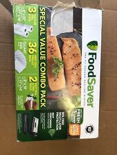 FoodSaver FSFSBF084P-P26 Special Value Combo Pack