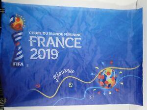 "FIFA Women's World Cup France 2019, Fan Flag - FIFA, 23½"" x 16"" (60cm x 40cm)"
