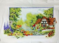 "NEW luxury finished completed Cross stitch""Beautiful Spring""home decor gifts"