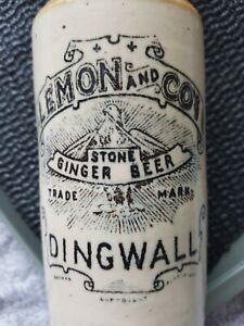 Dingwall lemon and co stone ginger beer bottle swing stopper nr