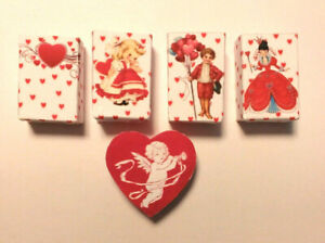 VALENTINE'S DAY assorted sets dollhouse miniature fairy bag candy YOUR CHOICE