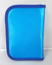 blu cerniera circolare Astuccio grande rettangolare CANCELLERIA SCUOLA PENNE
