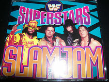 THE WWF SUPERSTARS - Slam Jam Wrestling Song CD Single