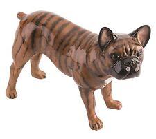 Beswick PAMPERED Pooches Melange Bulldog Francese Cane in Ceramica Figura 12 cm jbpp 1BRI