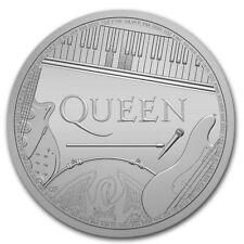 GRANDE BRETAGNE 2 Livres Argent 1 Once Légendes Musique Britannique Queen 2020