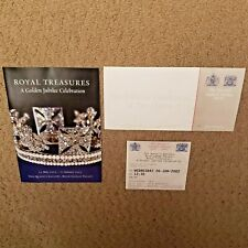 Royal Treasures A Golden Jubilee Celebration Queen Buckingham Palace 2002 - 2003