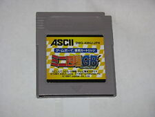 Mini Yonku 4WD Let's & Go Game Boy GB Japan import cartridge only