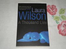 A THOUSAND LIES by LAURA WILSON      -ARC-  +JA+