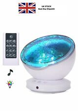 [Upgraded]Ocean Projector Lamp Night Light+Remote Control+Timer, Bedside Child