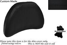 BLACK STITCH CUSTOM FITS HONDA GOLDWING GL1500 88-00 DRIVER BACKREST COVER
