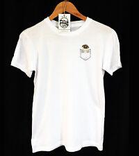 PUG POCKET T-SHIRT - INDIE - HIPSTER - PRINT POCKET - PEAK CLOTHING - UNISEX