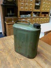 alter Metallkanister Industriedesign Benzinkanister Vintage Metall Loft