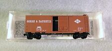 Micro Train MTL N Scale NMRA Heritage Collection Gorre & Daphetid 40' Box Car