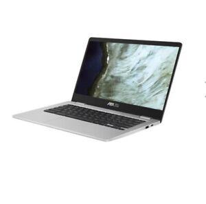 "ASUS CHROMEBOOK C423 14.0"" Laptop Intel Dual-Core Celeron N3350 C423NA-WB01-CB"