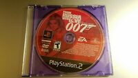 From Russia With Love (Sony PlayStation 2, 2005) Disc only, tested, works