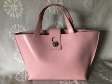 FURLA Pink Leather Tote Bag Purse