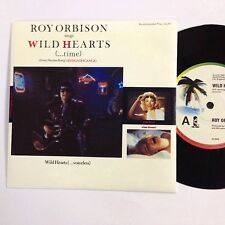 Roy Orbison Wild Hearts Like New 1985 7`` Record
