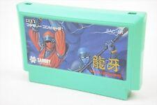 RYUGA NINJA CRUSADERS Famicom NES Nintendo GOOD CONDITION JAPAN Cartridge fc