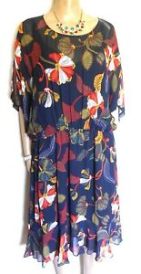 Sussan floral dress, sz. 14 showy style, NWOT