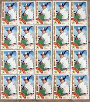 1984 - Topps #400 - Cal Ripken Baltimore Orioles - HOF - 20ct Card Lot