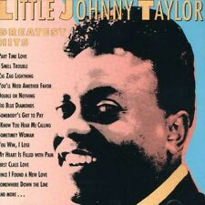 Greatest Hits - Johnny Taylor (1991, CD NIEUW)