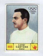 figurina CAMPIONI DELLO SPORT 1968-69 -REC- N. 465 LONDRA 1948 CANTONE