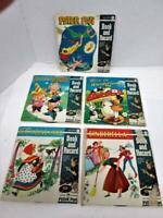 Vintage Lot Rare 1960s Peter Pan Book & Record Sets 45rpm #1937,1938,1939,1942 +