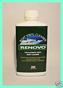 RENOVO MARINE/BOAT VINYL COVERS/SEAT CLEANER 500ml.