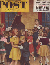 1951 Saturday Evening Post April 28-Texas A&M;Costello