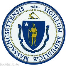 ***MASSACHUSETTS STATE SEAL VINYL  DECAL / STICKER****