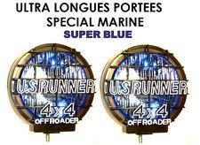 CF OSCAR LIGHTFORCE HELLA CIBIE 2 PHARES 24CM QUALITE MARINE SUPER LONGUE PORTEE