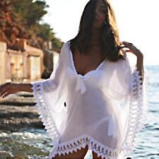 Women Fashion Lace Hollow Crochet Bikini Cover Up Swimsuit Swimwear Beach Dress