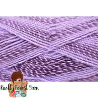 Major Bulky Universal Yarn LILACS Purple Acrylic #5 Bulky Weight 393yd 200gr
