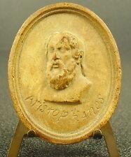 Medaille XVIII au poète comique grec Aristophane Greek poet Aristophanes medal