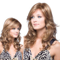 Long Curly Wavy Full Wigs Synthetic Hair Heat Resistant Party Cosplay Costume
